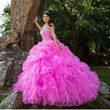 XGGandXRR Ball Gown Quinceanera Dresses Sweet 16 Dresses
