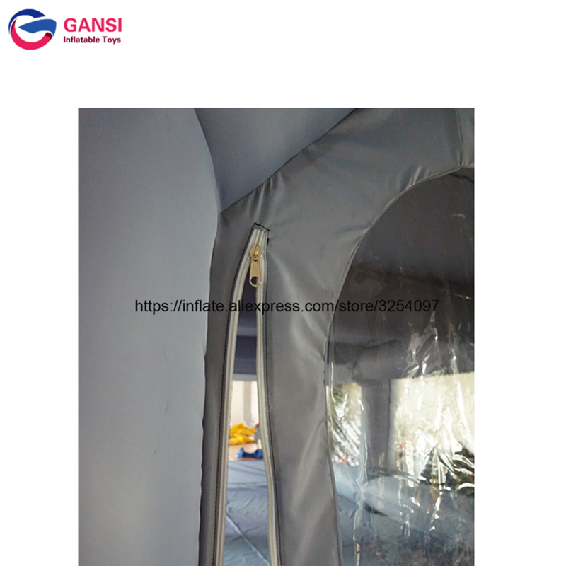 inflatable paint spray booth52