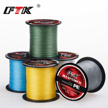 FTK 300M PE Fishing Line 4 Strands 0.1~0.4MM 13-70LB Strong Braided for Sea fishing accessories