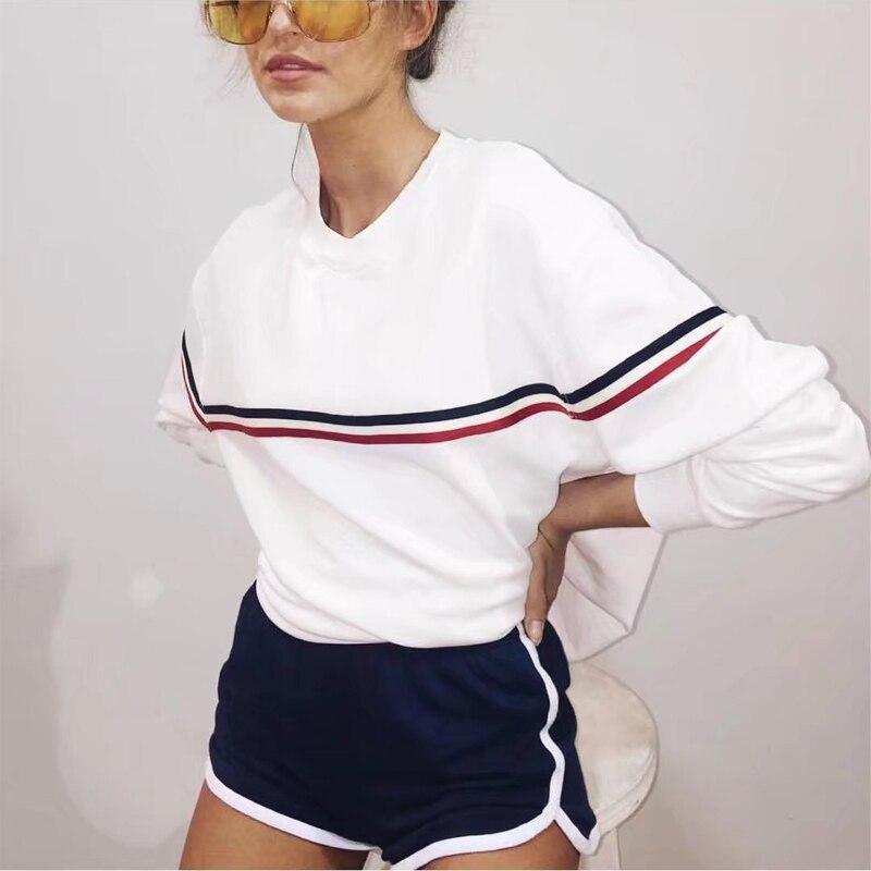 Günstige Kaufen Ariana Grande Sweatshirts Frauen Weiß Nette