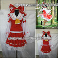 Anime Touhou Project Cosplay Costume Hakurei Reimu Reimu Hakurei Lolita Dress Halloween customized any size