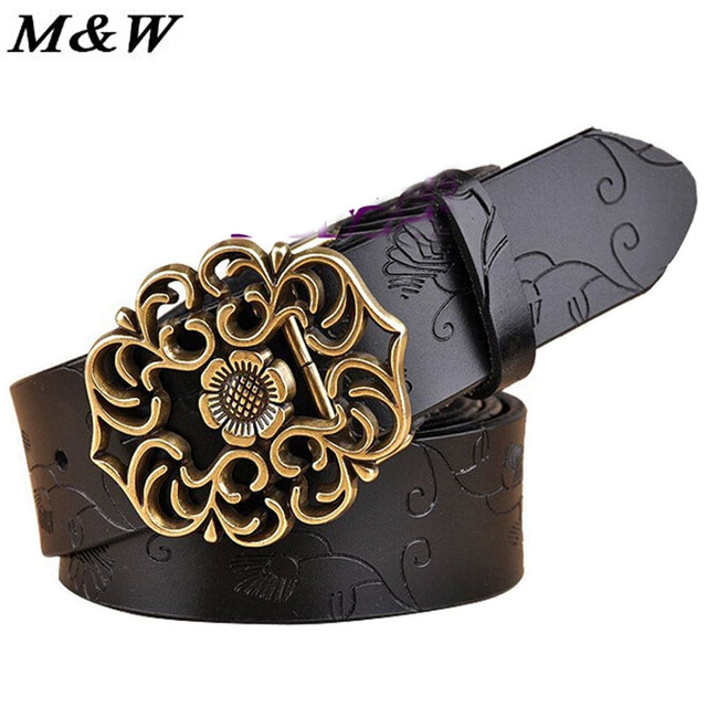 New Fashion Korean folk style all-match ladies leather belt buckle 2017 cintos femininos leather belt for women wide belt