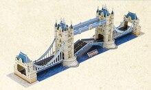 Edifícios Estereoscópicas 3d Puzzle Diy Papelão Zhimo Londres Twin Bridge Modelo Unisex Movie & Tv Venda Quente
