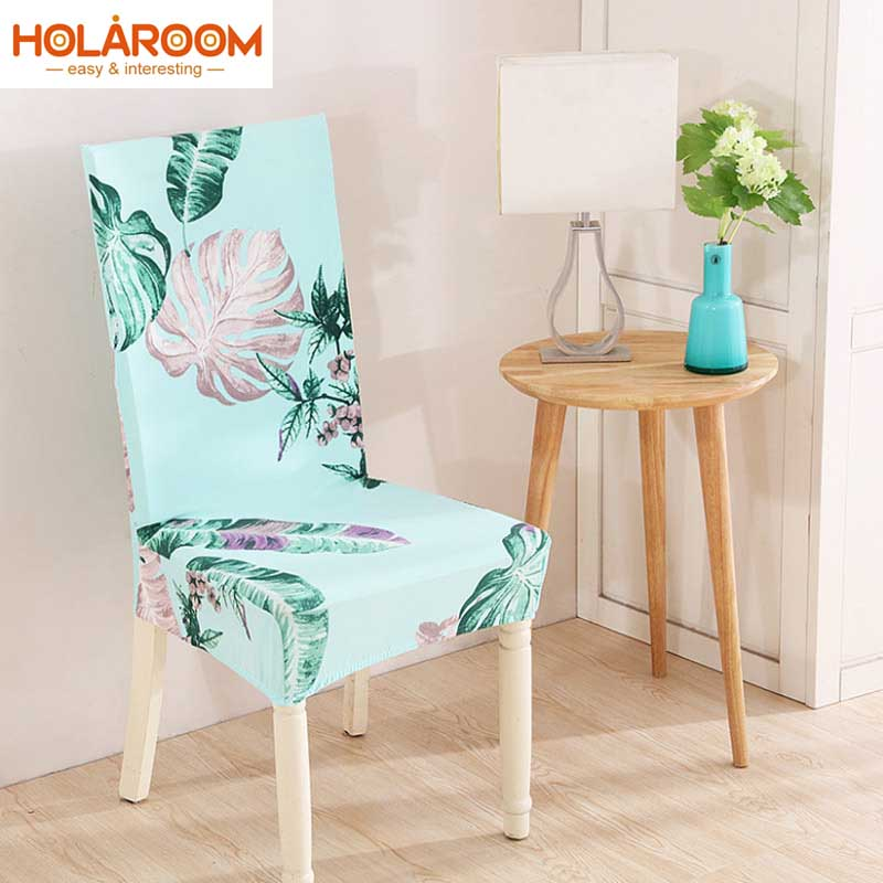 2pcs/lot Floral Pattern Chair Cover Banquet/dining Room