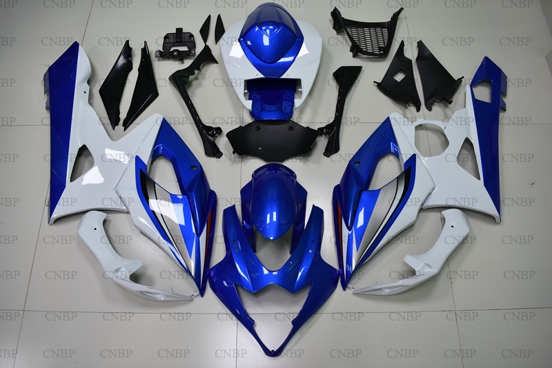 for Suzuki GSXR1000 2006 Fairings GSXR1000 2005 - 2006 K5 Blue White Abs Fairing for Suzuki GSXR1000 06 Motorcycle Fairingfor Suzuki GSXR1000 2006 Fairings GSXR1000 2005 - 2006 K5 Blue White Abs Fairing for Suzuki GSXR1000 06 Motorcycle Fairing