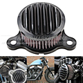 Grill Cover Style Motorcycle Air Cleaner Intake Filter System For Harley Sportster XL883/1200 2004-2015 Air Filter