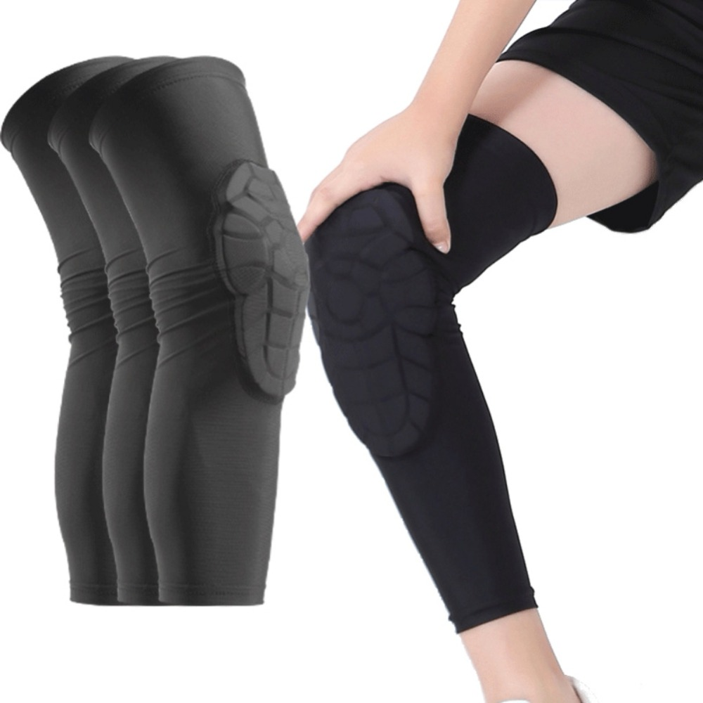 1Pc Kids Sports Kneepads Anti-Collision Basketball Honeycomb Knee Pad Brace Children Skating Running Knee Guard Protector Sport