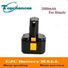 High Quality 9 6V 2000mAh Ni CD Rechargeable Power Tool Battery For Hitachi Drill EB9G EB9M