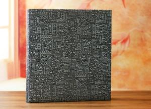 Image 3 - 600 כיסי 6 אינץ Interleaf סוג גדול גבוהה קיבולת אלבום תמונות עור מפוצל אלבומים תמונות בעבודת יד DIY הנצחה משפחה פרח