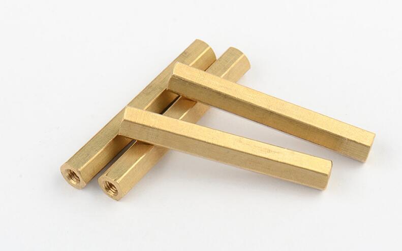 20pcs M5 Series Female To Female Brass Standoff PCB Motherboard Copper Hexagonal Spacer Hex Double Pass Spacers M5*8/10-30mm плавкий предохранитель roc 50 m5 spacer