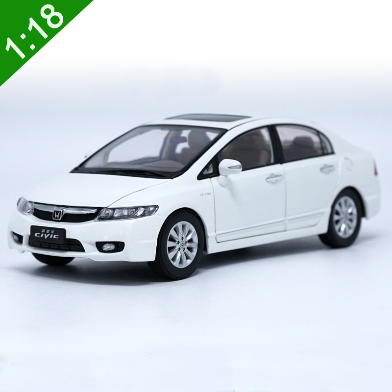 new 1 18 honda civic 8 generations alloy diecast car model. Black Bedroom Furniture Sets. Home Design Ideas