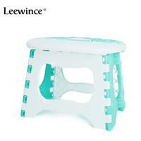 Leewince Plastic Foldable Bathroom Small Stool Children S Outdoor Portable Chair Camping Picnic Step Stool Load