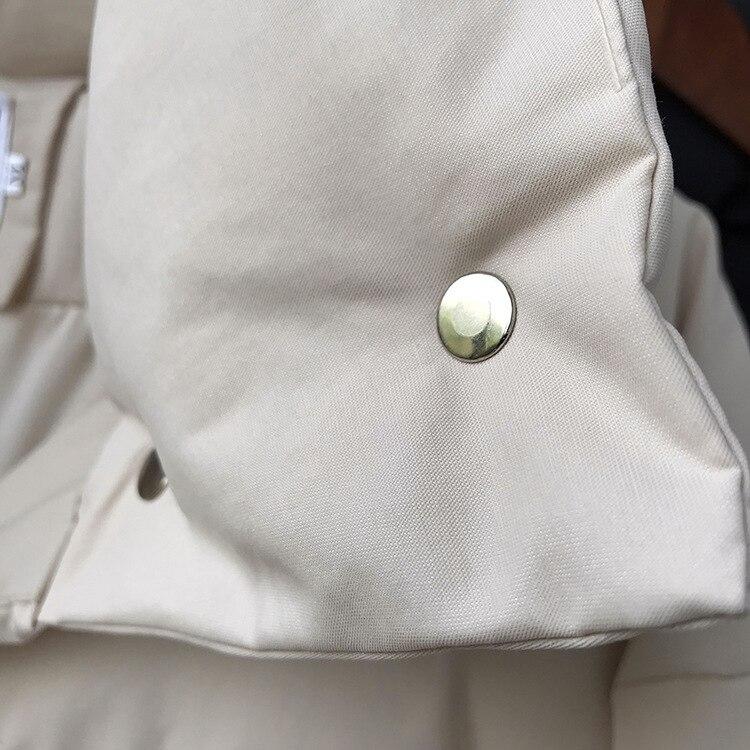 casacos feminino longo casual quente oversize puffer jaqueta parka marca