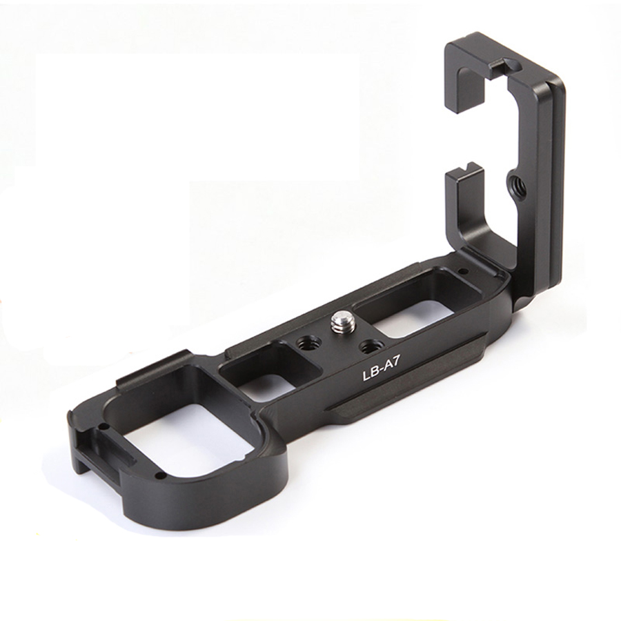 Metal CNC Vertical Shoot Quick Release Plate L Bracket for Sony A7 A7R A7S Camera DSLR Arca Swiss