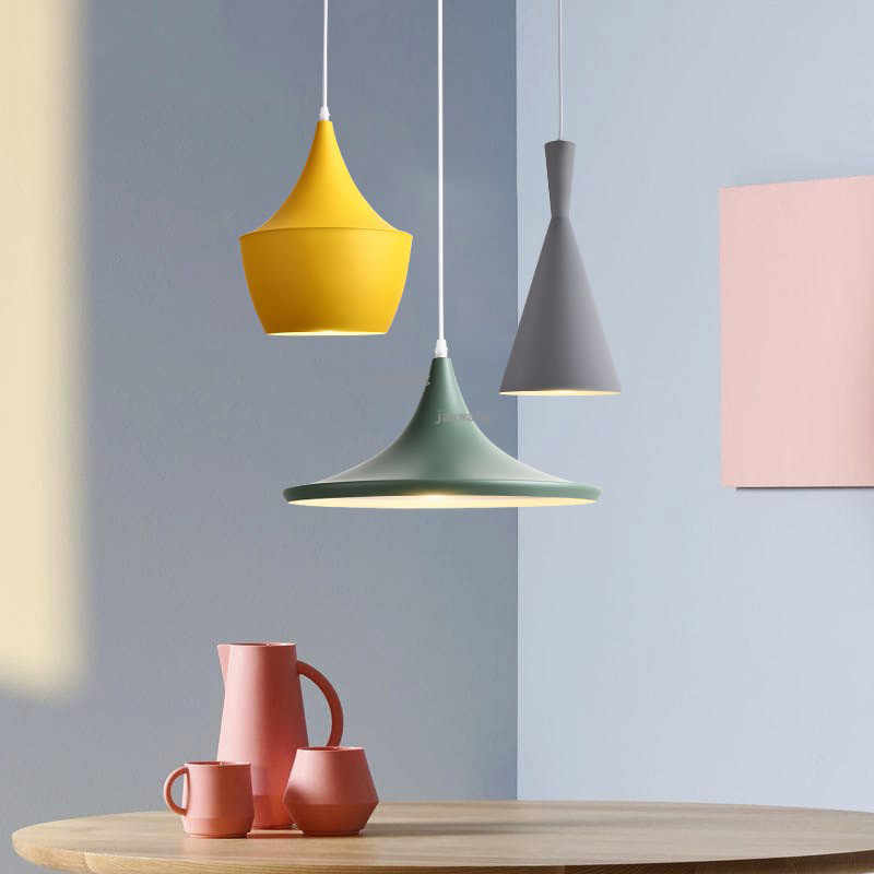 WDX Modern Color Led Pendant Lamp Lights Hanging Lamp Hanglamp Light Fixture Modern Hanging Ceiling Lamps Chandelier Lighting