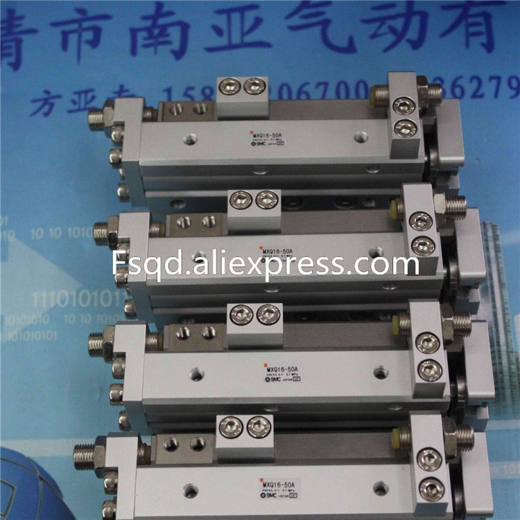 цена на MXQ16-50BT MXQ16-75BT MXQ16-100BT MXQ16-125BT SMC air slide table cylinder pneumatic component MXQ series