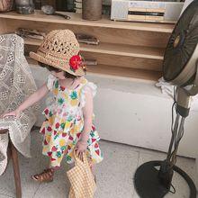 GIRLS DRESSES BEACH PRINCESS DRESS TODDLER GIRL CLOTHES BABY ELEGANT FASHION