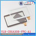 10 1-дюймовый Планшет MTK6582 A101 N9106  YLD-CEGA350-FPC-A1 FPC  емкостный сенсорный экран  панель  дигитайзер  Сменное стекло
