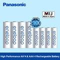 Panasonic eneloop 4 aa (2000 мАч) + 4 aaa (800 мАч) никель-металл-гидридные аккумуляторные батареи 1 2 В цифровой аккумулятор для игрушки камеры