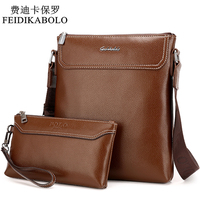 New Fashion Men Messenger Bags Leather Male Shoulder Bag Casual Briefcase Brand Bags Morer 3001 1