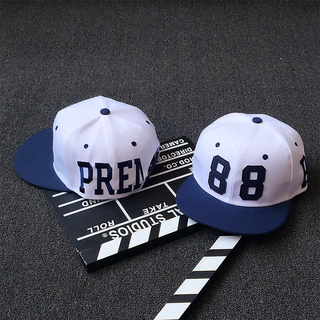 Fashion Navy Blue Eaves 88 Number Baseball Cap Sporting Outdoor Snapback  Hat White Hiphop Casquette Adjustable Baseball Hat Girl 19d7de5f87c