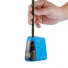 Электрическая автоматическая точилка для карандашей, школьная точилка канцелярские принадлежности для карандашей и цветных карандашей, питание от аккумулятора/USB
