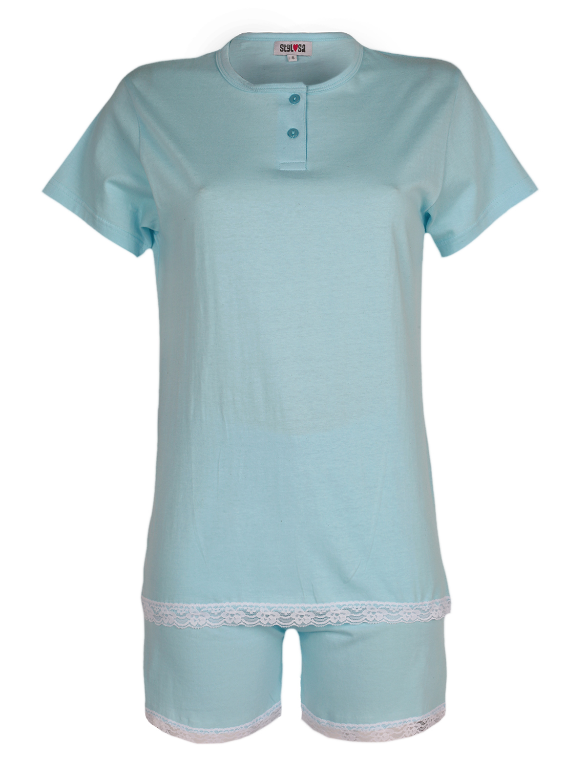 Pajamas Short With Lace
