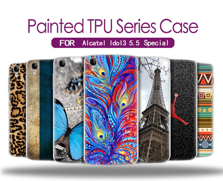Alcatel Idol 3 case silicone High Quality ultrathin silicone case cover For Alcatel Idol 3 5.5 inch OT6045 6045Y phone case