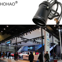 HOHAO Linear ZOOM 15 to 60 Beam Angle 200W COB LED Par Light 3200 5600k Color Temperature White Stage Auto Show Lamp