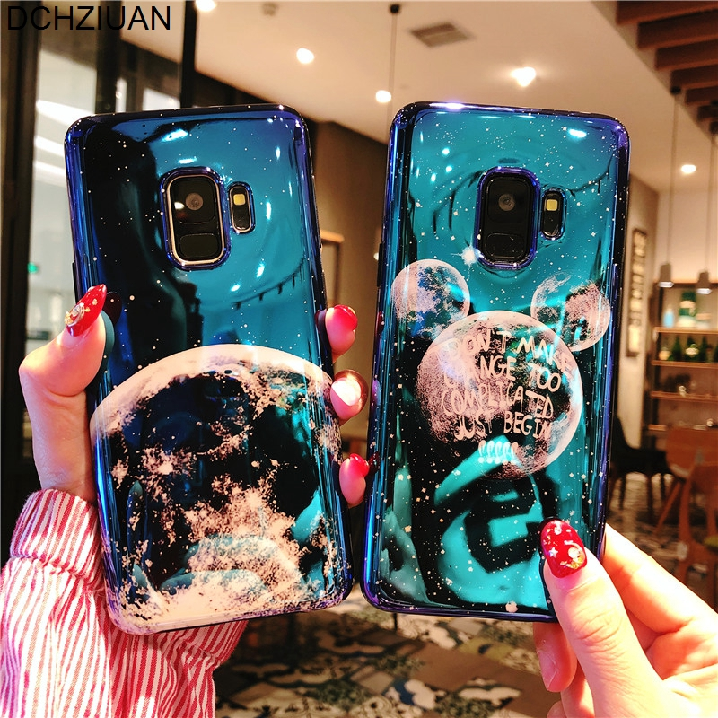 Phone Bags & Cases Half-wrapped Case Sporting Izyeky Case For Huawei Nova 3 3i 3e Cute Universe Planet Moon Star Phone Cover For Huawei Nova 3e Coque Case For Nova 3i Superior Materials