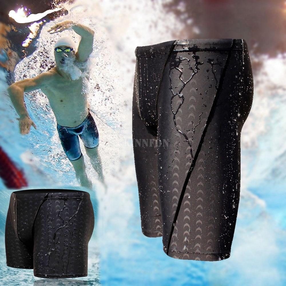 Shorts Swimwear Jammer Trunks Racing Sharkskin Men's Waterproof 50pcs Quick-Drying DHL