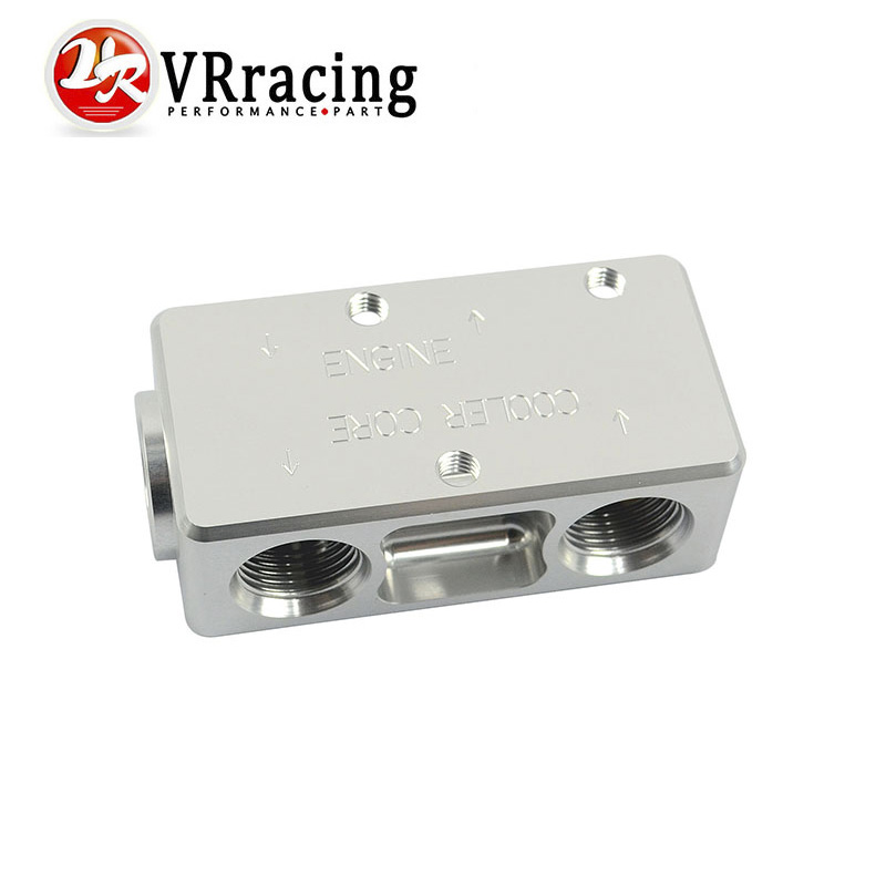 ФОТО VR RACING- Oil Filter Sandwich Adaptor For High quality Oil filter remote block with thermostat 1xAN8 4xAN10 ORB FEMALE VR6748