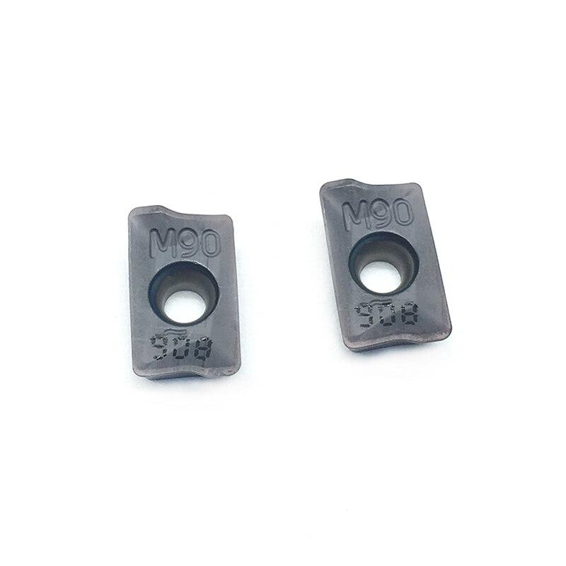 10psl. HM90 APKT 1003PDR IC908 Išoriniai tekinimo įrankiai Karbido - Staklės ir priedai - Nuotrauka 5