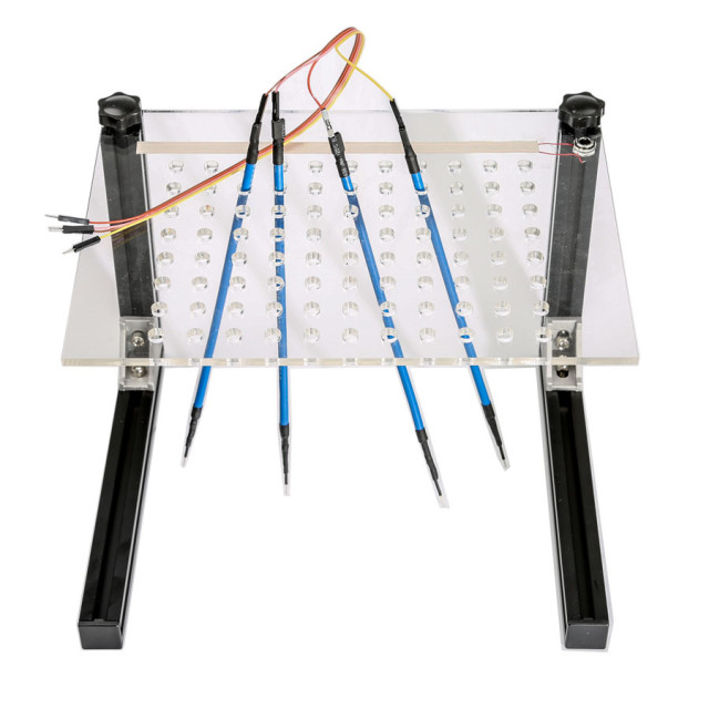 LED BDM Frame 4 Probes Mesh Full Kit for Kess Ktag Fgtech BDM100 ECU Programmer