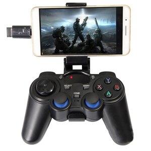 Image 3 - 2.4G Wireless Gamepad Giochi Per PC Controller Joystick Controller di Gioco Per Android Smart Phone Per PS3 PC Del Computer Portatile di Controllo del Gioco