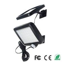 56 светодиодный солнечный светильник Открытый водонепроницаемый IP65 PIR датчик движения Солнечный садовый свет настенный светильник инфракрасный датчик света