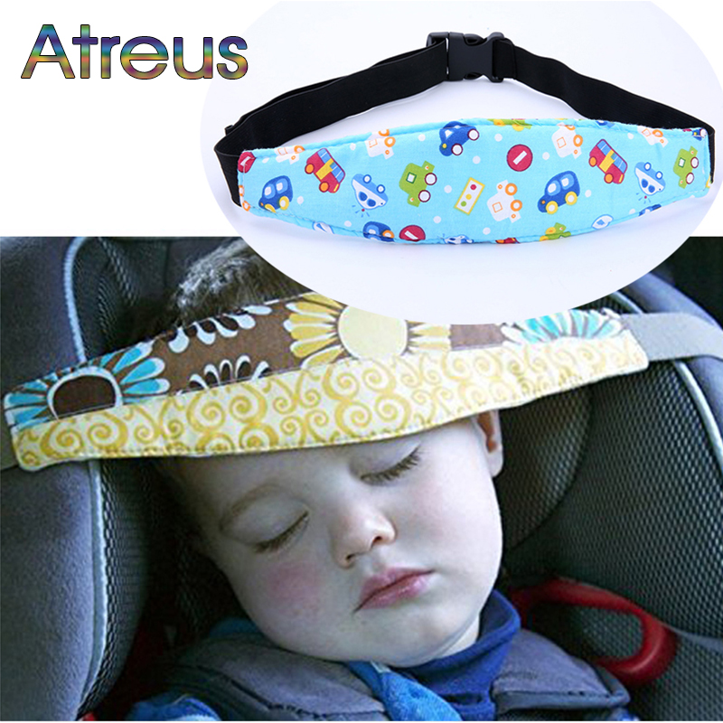 Atreus Baby Car Seat Headrest Sleeping Head Support Pad For Chevrolet Cruze Opel Astra J H Peugeot 307 308 407 3008 Tiguan 2017