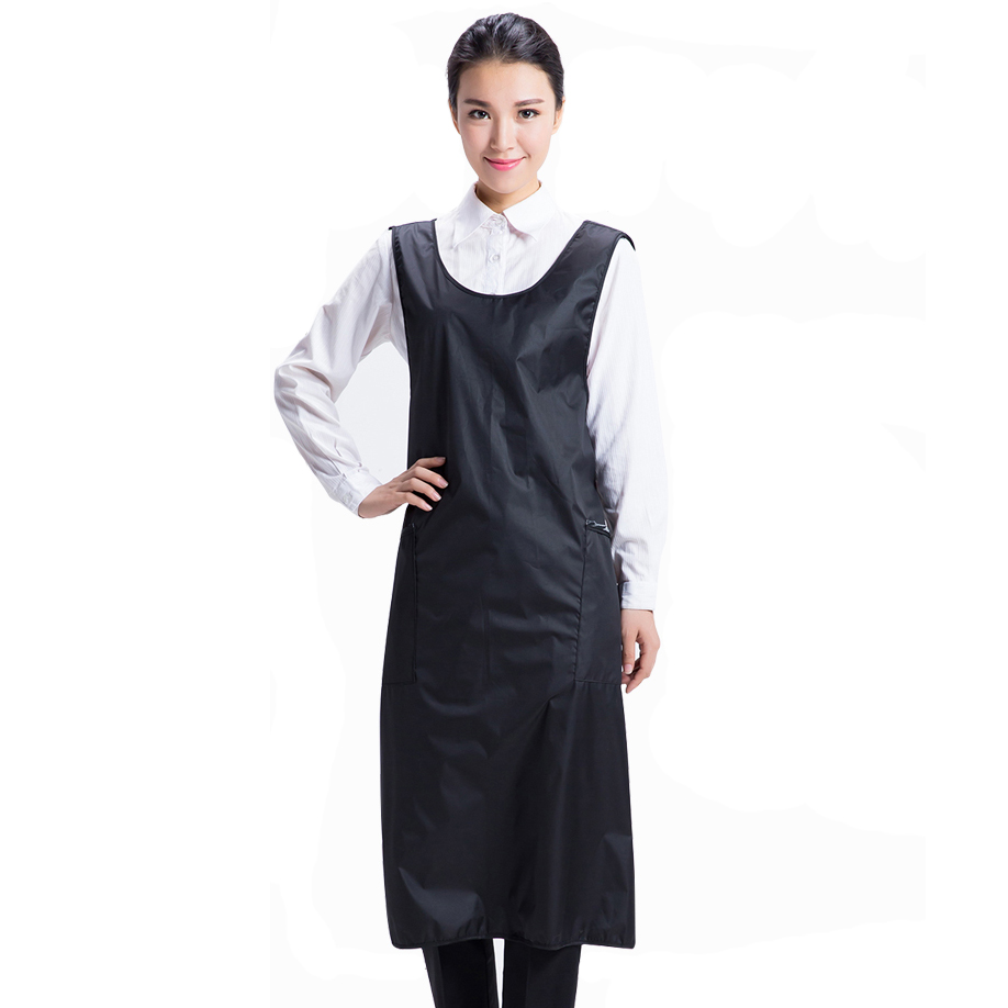 Hairdresser Long Working Salon Barber & Assitant Hair Cutting Styling Cape Apron Gown Blouse To Knee Hairdressing Supplies U1031
