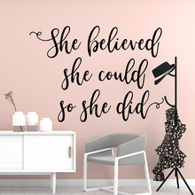 Creative English Quotes Wall Decal Living Room Removable Mural For Kids Rooms Home Decor Sticker