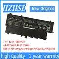 7 5 V 52Wh новый оригинальный AA-PLWN4AB Аккумулятор для ноутбука Samsung AA-PBYN4AB 530U3B 530U3C 535U3C 532U3X 540U3C