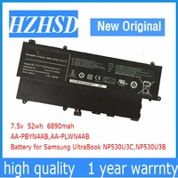 7.5V 52Wh New Original AA PLWN4AB Laptop Battery for Samsung AA PBYN4AB 530U3B 530U3C 535U3C 532U3X 540U3C