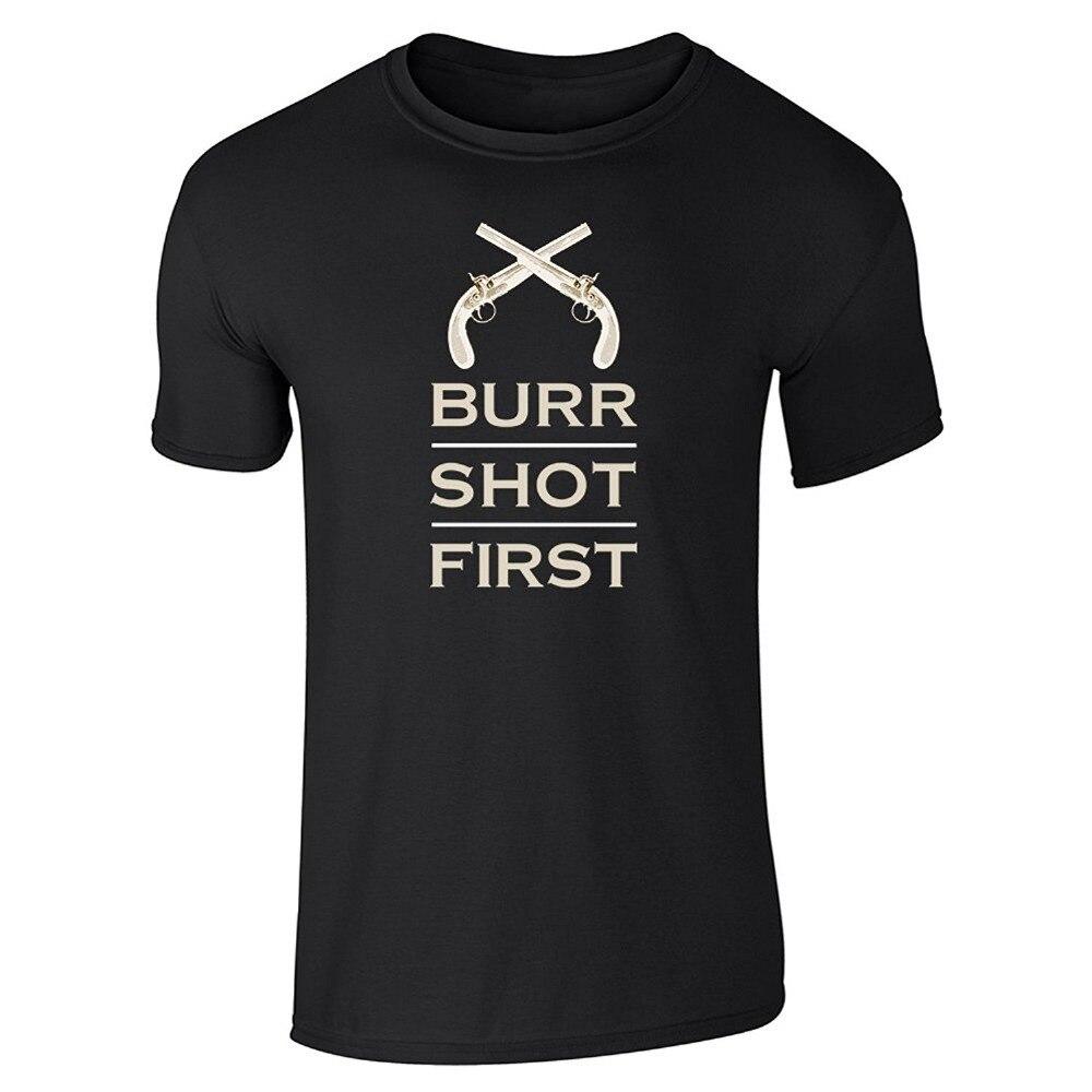 Модная футболка Марка o-образным вырезом короткий рукав мода 2018 мужские Аарон заусенцев выстрелил первым Футболки для девочек