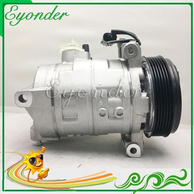a37688925d8 A C AC Air Conditioning Compressor Cooling Pump DKS17D for Jeep Wrangler JK  LIBERTY KK 2.8 ENS 55111401AD 55111401AC 55111401AE