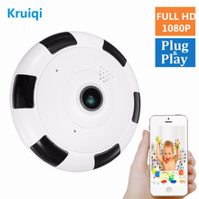 Kruiqi IP Camera wifi 1080P CCTV Camera Indoor Ip Surveillance Camera Night Vision 1.3MP HD Built-in 64G Memory Card IP Camera vstarcam c7838wip hd indoor ip camera pnp audio recording storage 64g tf card cctv wireless ip camera 720p free send 8gb card
