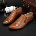Zapatos Hombre British Pointed Toe Oxford Shoes For Men Dress Shoes Formal Office Mens Shoes Leather Brown Black Male Flats