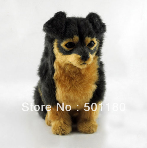 free shipping sitting dog sculpture crazy dog toys cheap dog
