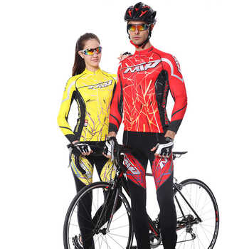 Mountainpeak Spring Long Sleeve UV Protect Cycling Jerseys Suit Mountain Bike Quick Dry Breathable Riding Jersey Clothing Sets