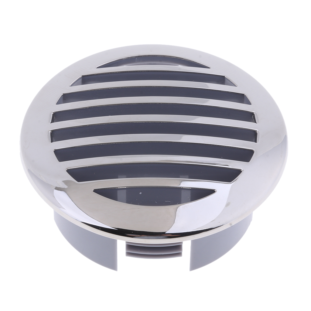 Image 3 - 1pcs RV Marine Boat 3' 76mm Marine Grade 316 Stainless Steel Curved Clad Airflow Vent 81932SS HP-in Marine Pump from Automobiles & Motorcycles