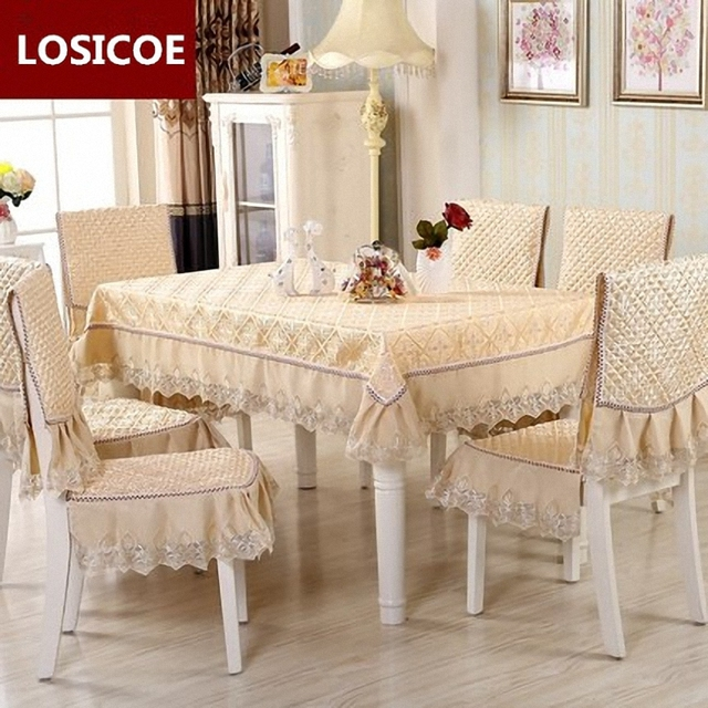 chair cover quilting cars bean bag high grade cloth table 20 style pattern quilted lace embroidered tablecloths
