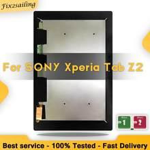 100% testowane dla Sony tablet xperia Z2 SGP511 SGP512 SGP521 SGP541 ekran dotykowy szkło Digitizer montaż wyświetlacza lcd darmowa wysyłka